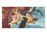 La Sainte Famille (detail) Premium Giclee Print by Nicolas Poussin
