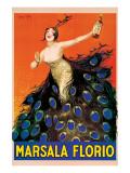 Marsala Florio Giclée-Premiumdruck