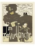 Magazine La Revue Blanche, c.1894 Lámina giclée prémium por Pierre Bonnard