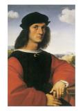 Portrait of Agnolo Doni Reproduction giclée Premium par  Raphael