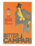 Campari Bitter Giclée-Premiumdruck