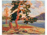 The Pine Tree Premium Giclée-tryk af Tom Thomson