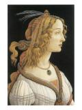 Simonetta Vespucci in Mythological Guise Reproduction giclée Premium par Sandro Botticelli