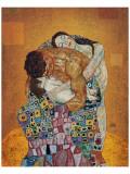 Familien Premium Giclee-trykk av Gustav Klimt