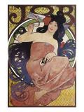 JOB Premium Giclee Print by Alphonse Mucha