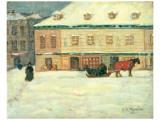 Winter Scene Exklusivt gicléetryck av James Wilson Morrice