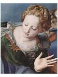 Nedtagelsen fra korset Premium Giclée-tryk af Agnolo Bronzino