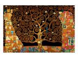 The Tree of Life (Interpretation) Premium Giclée-tryk af Gustav Klimt