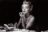 Marilyn Monroe (in the mirror) Plakater