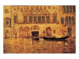 Old Palace, Venice Exklusivt gicléetryck av James Wilson Morrice