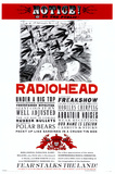 Radiohead Plakat