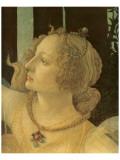 La Primavera (detail) Reproduction giclée Premium par Sandro Botticelli