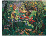 Gartenlabyrinth Giclée-Premiumdruck von J. E. H. MacDonald