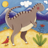 Baby Izzy the Iguanodon Art by Sophie Harding