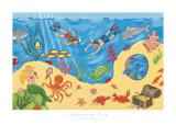 Undersea Fun Poster by Sophie Harding
