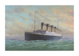 Titanic Kunstdrucke von Edward Walker