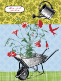 My Beautiful Garden Prints by Hélène Druvert