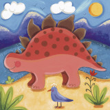 Baby Steggy The Stegosaurus Posters by Sophie Harding