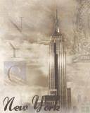 New York Travelogue Kunst von Ben James