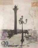 Venice Travelogue Kunstdrucke von Ben James