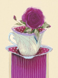 Tea Rose Posters av Marilyn Robertson