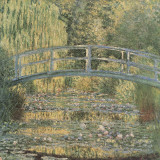 The Waterlilly Pond, Green Harmony Plakater af Claude Monet