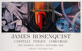 While the Earth reveiolved at night Samlertryk af James Rosenquist