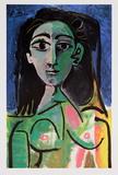 Buste de Femme (Jaqueline) Affiches par Pablo Picasso