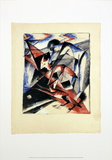 Noah with the Foxes Posters af Franz Marc