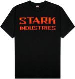 Iron Man  - Bevel Stark T-skjorter