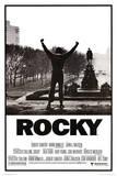 Rocky, il film. Con le braccia alzate. Stampe