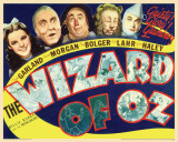 Wizard Of Oz - Retro Prints