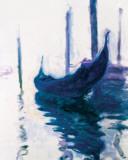 Monet - Gondolas Pôsters por Claude Monet