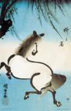 Kunisada - Horse Under A Willow Masterprint