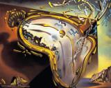 Dali, Relógio derretido Poster por Salvador Dalí