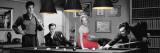 Legal Action avec E. Presley, M. Monroe, J. Dean Photographie par Chris Consani