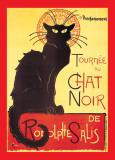 Steinlen - Chat Noir Posters por Théophile Alexandre Steinlen