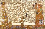 ストックレー・フリーズ=生命の樹(期待、成熟(抱擁)) 1905-09年 ポスター