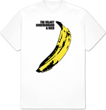 The Velvet Underground - Banana White T-paita