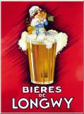 Bieres De Longwy Placa de lata