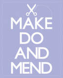 Make Do and Mend Pôsters