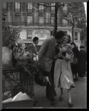 Paris, 1950 Affiche montée sur bois par Robert Doisneau