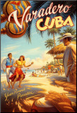 Varadero, Cuba Impressão montada por Kerne Erickson