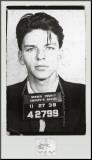 Frank Sinatra-Mugshot Mounted Print