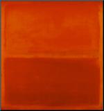 No. 3, 1967 Druck aufgezogen auf Holzplatte von Mark Rothko