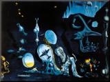 Idylle Atomique Montert trykk av Salvador Dalí