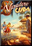Varadero, Cuba Impressão montada