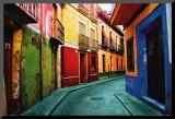 Granada, Espanha Impressão montada por Ynon Mabat