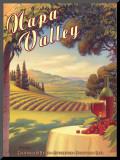 Napa Valley Impressão montada por Kerne Erickson