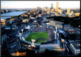 Boston - All Star Game at Fenway Mounted Print by Mike Smith